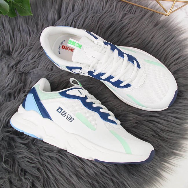 Buty sportowe damskie białe Big Star HH274810