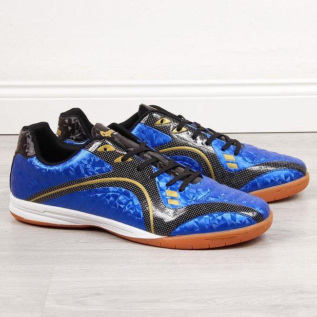 Buty halowe męskie nadwymiar niebieskie American Club