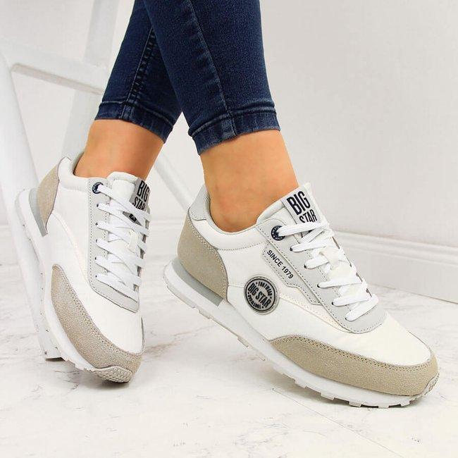 Buty sportowe białe Big Star HH274527