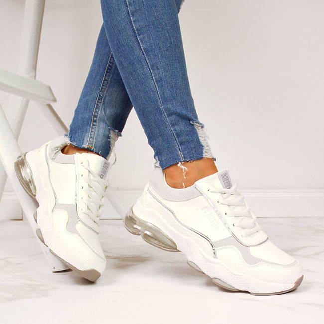 Buty sportowe damskie białe Big Star II274178