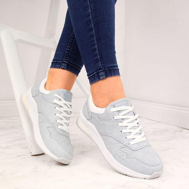 Buty sportowe damskie błękitne American Club