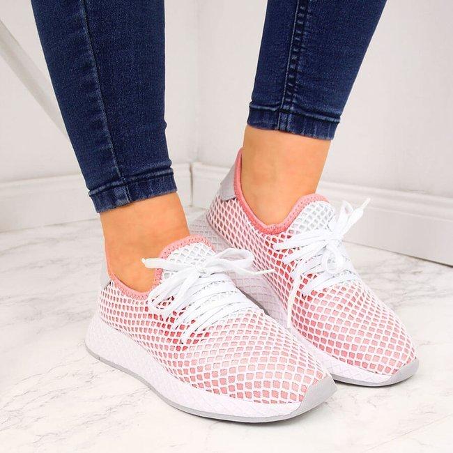 Buty sportowe do biegania różowe American Club