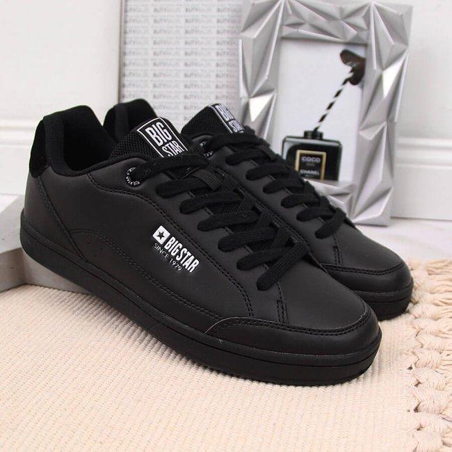 Buty sportowe eko skóra czarne Big Star II274320