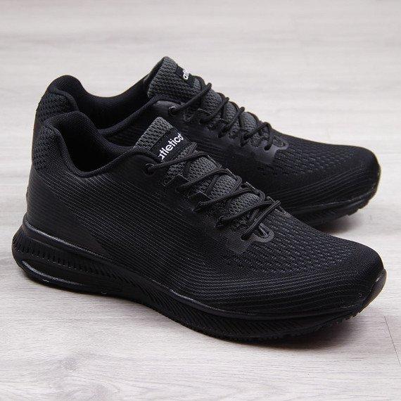 Buty sportowe męskie czarne Atletico