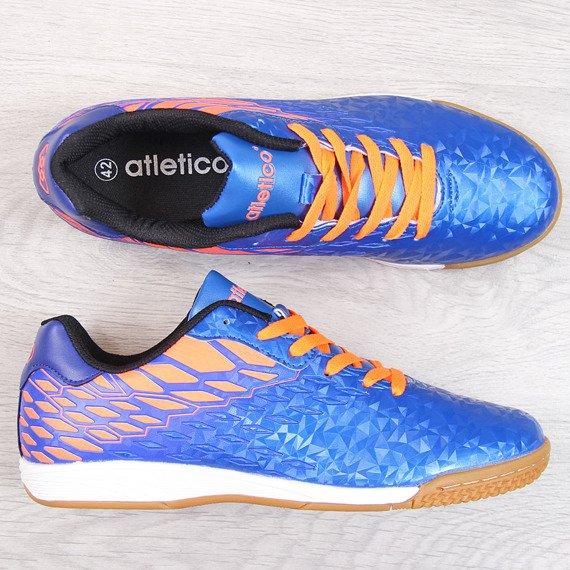 Buty sportowe męskie halówki niebieskie Atletico
