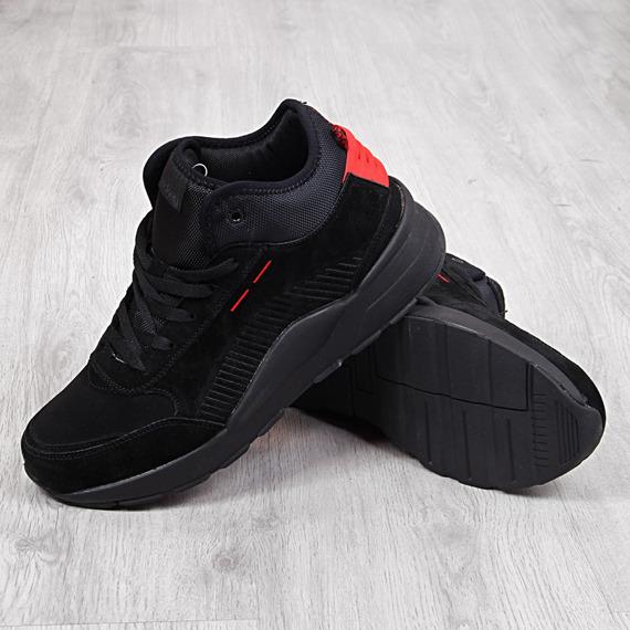 Buty sportowe męskie wysokie czarne McKey