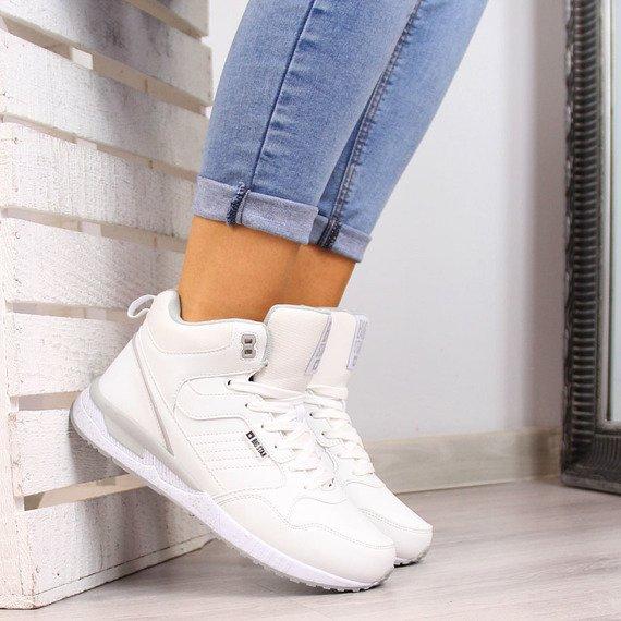 Buty sportowe ocieplane białe Big Star BB274638