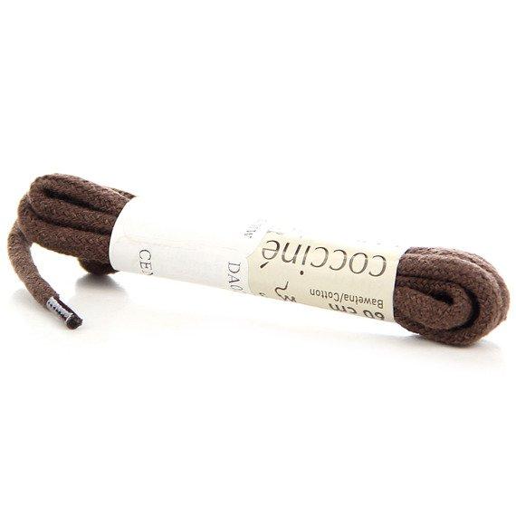 COCCINE brązowe sznurowadła 60 cm
