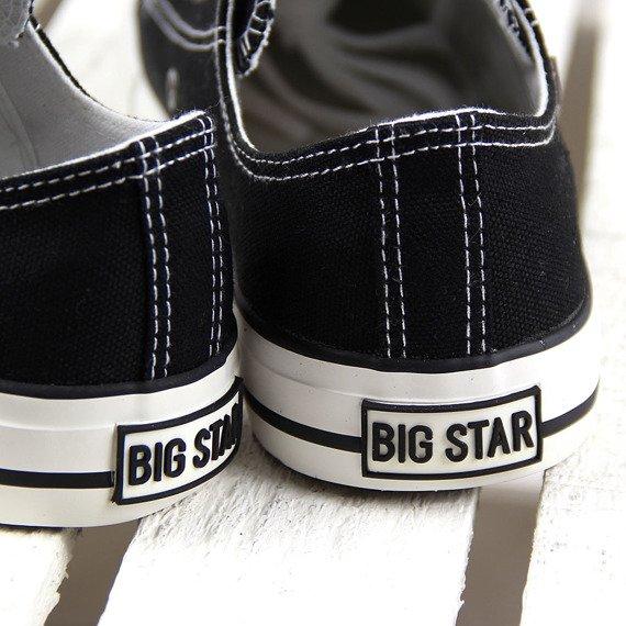 Czarne tenisówki półtrampki Big Star T274023