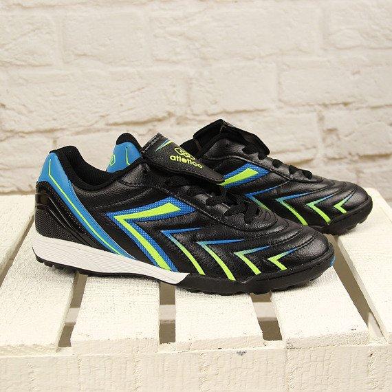 Czarne turfy buty piłkarskie męskie Atletico