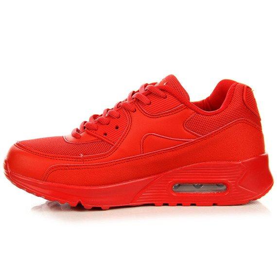 Czerwone buty sportowe N.E.W.S.