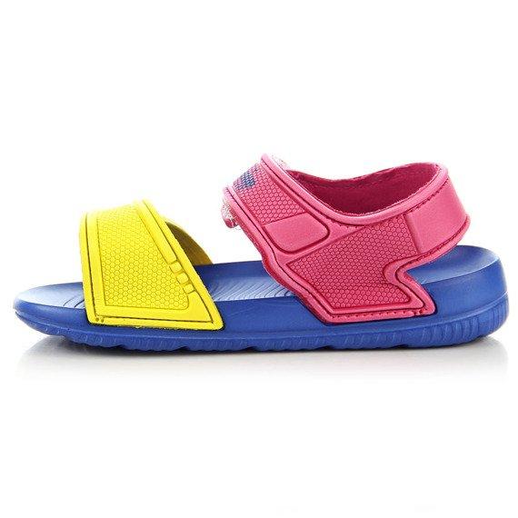 Kolorowe sandałki dziewczęce do wody American Club
