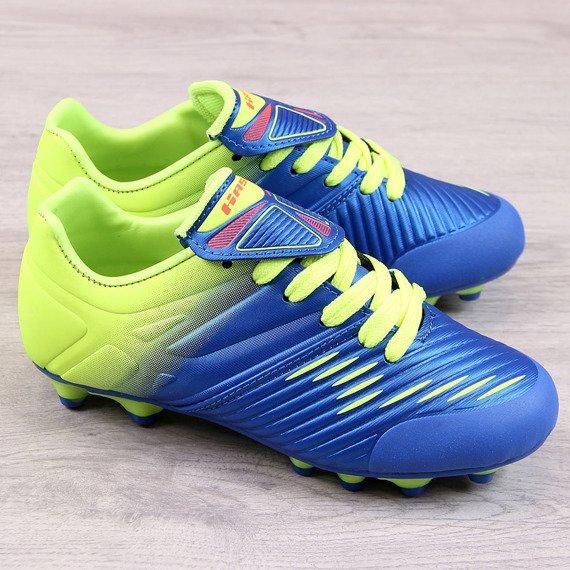 Korki piłkarskie dziecięce niebieskie Hasby