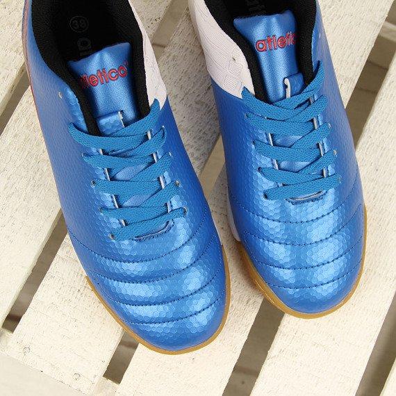 Niebieskie halówki młodzieżowe Atletico