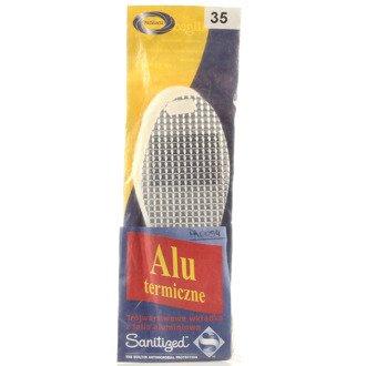 PASMANTA wkładki do butów zimowe aluminiowe