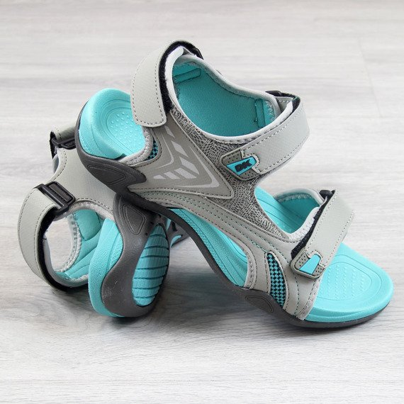 Sandały damskie sportowe szare DK