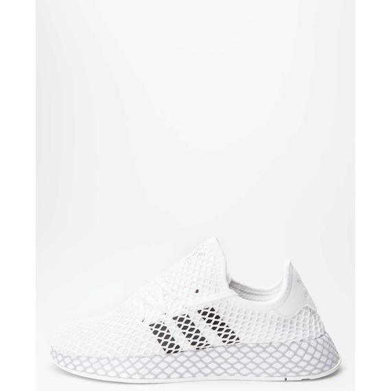 Sneakersy białe Adidas Deerupt Runner J F34295