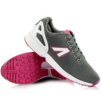 Szare buty sportowe lekkie fitness American Club