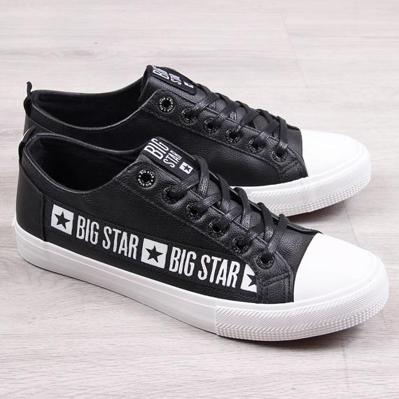 Trampki męskie niskie czarne Big Star EE174069