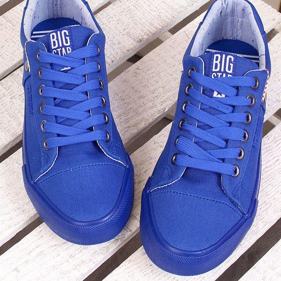 Trampki niskie niebieskie Big Star AA274510