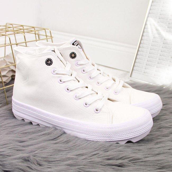 Trampki tekstylne białe Big Star FF274241