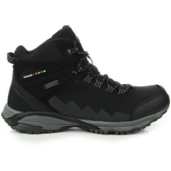 Zimowe buty męskie wodoodporne trekkingowe American Club