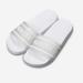Klapki męskie gumowe basenowe białe Kubota